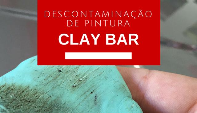 942a677d9a569 Descontaminação de Pintura  Como usar Clay Bar