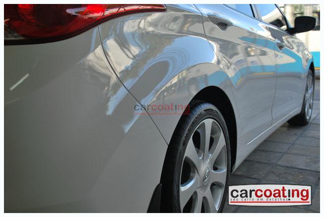 Car Coating zaino detalhe de protecao carros novos Hyundai Elantra   Detalhe para Carros Novos + Kit Zaino