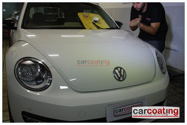 Car Coating zymol glasur vitrificacao de pintura detalhe de protecao carros novos VW Novo Fusca   Detalhe para Carros Novos + Coating + Glasur