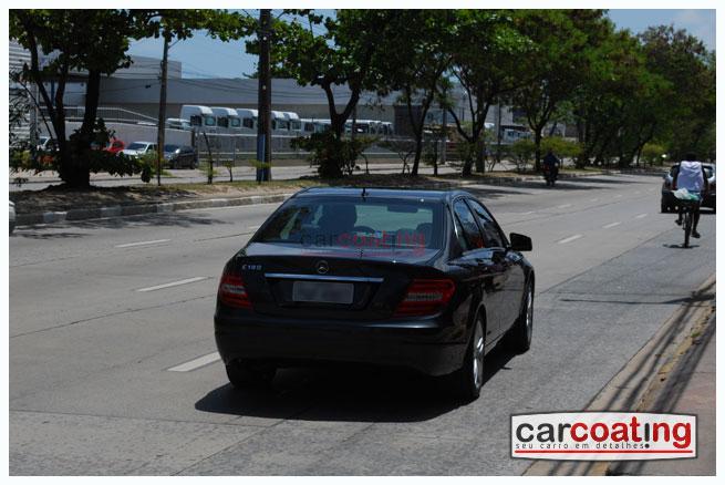 Car Coating vitrificacao de pintura migliore presidenziale detalhe de realce estagio 03 Mercedes C180 Turbo Sport   Detalhe de Realce + Coating + Migliore Presidenziale