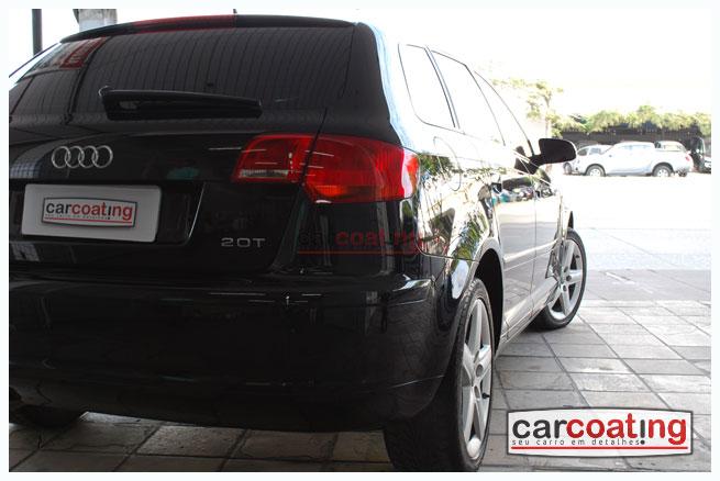 Car Coating zymol glasur vitrificacao de pintura detalhe de realce estagio 03 A3 Sportback + Detalhe de Realce + Coating + Glasur