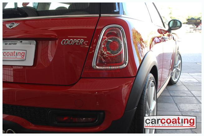 Car Coating tratamento polishangel%c2%ae detalhe de realce estagio 03 Mini Cooper S   Detalhe de Realce + Tratamento Polishangel®
