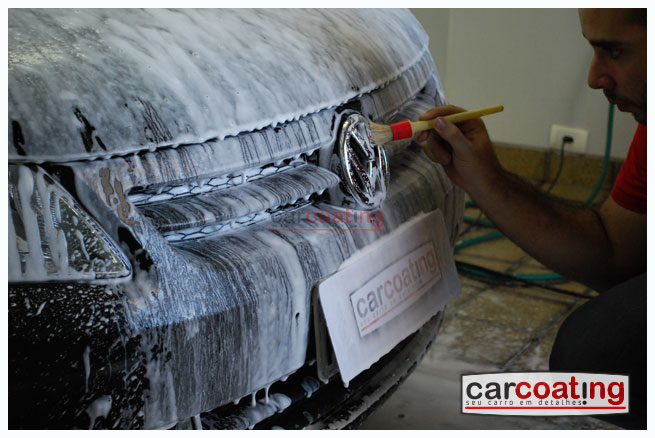 Car Coating detalhe de realce estagio 03 VW Voyage   Detalhe de Realce + Wolfgang e Nattys Red
